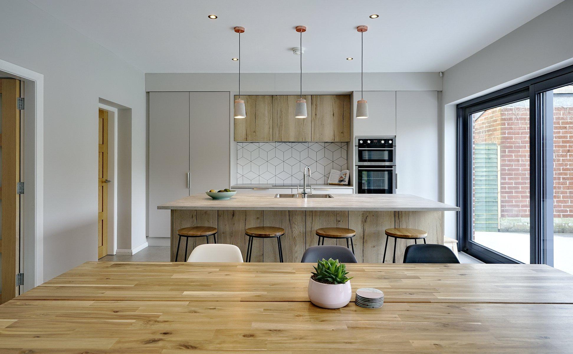 Modern Cashmere Kitchen