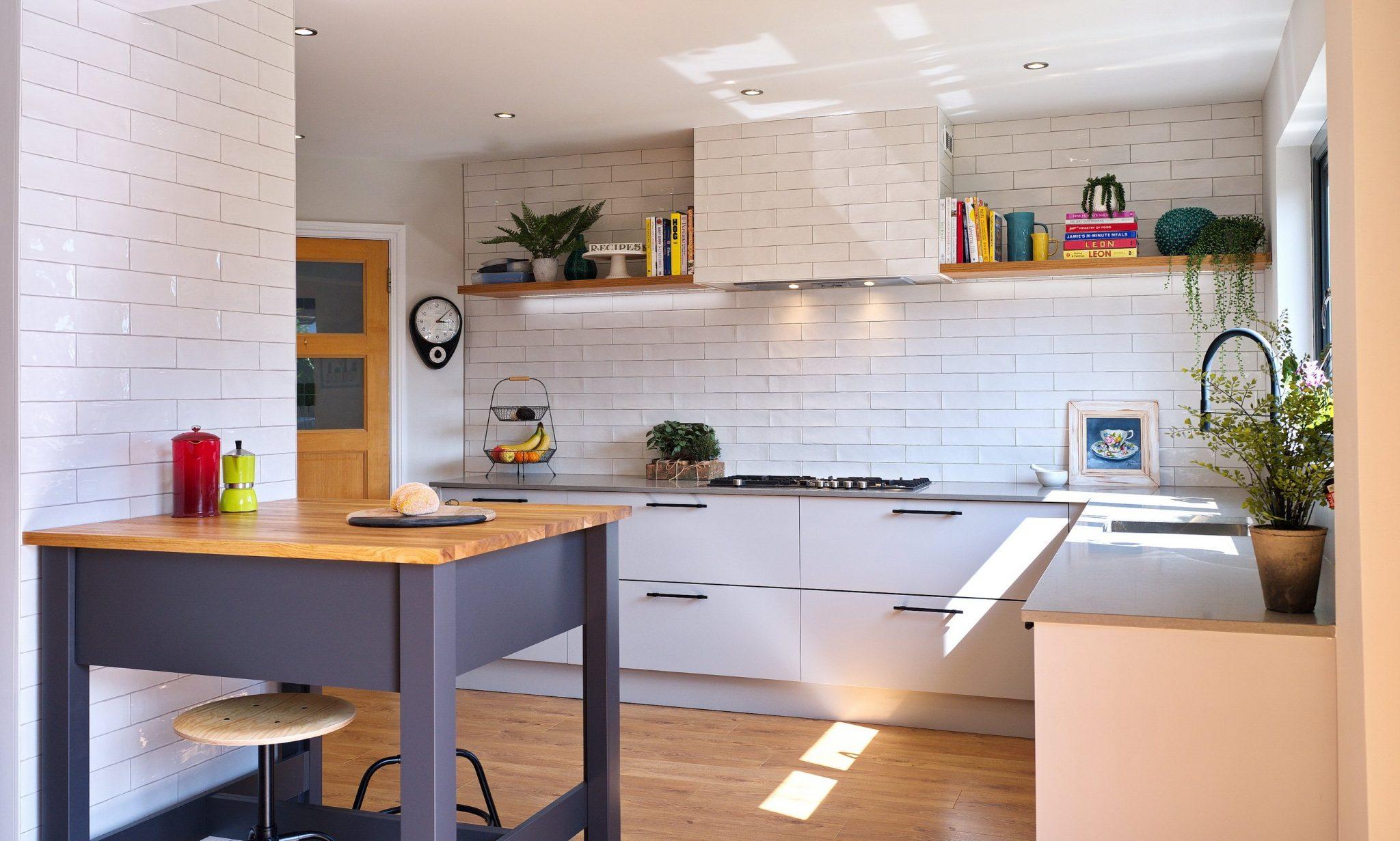Modern Grey kitchen in Bangor County Down