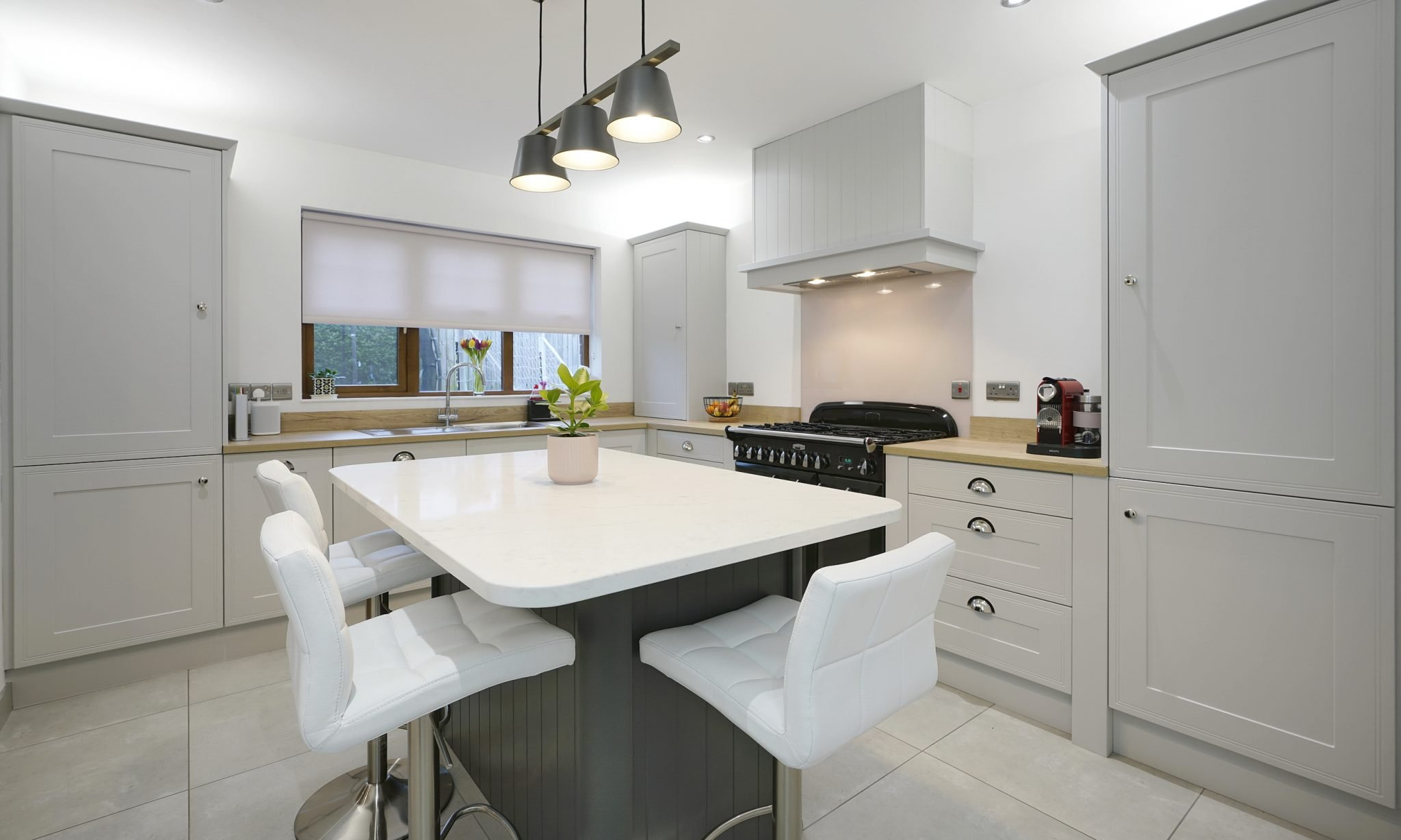 Light Grey Shaker Kitchen