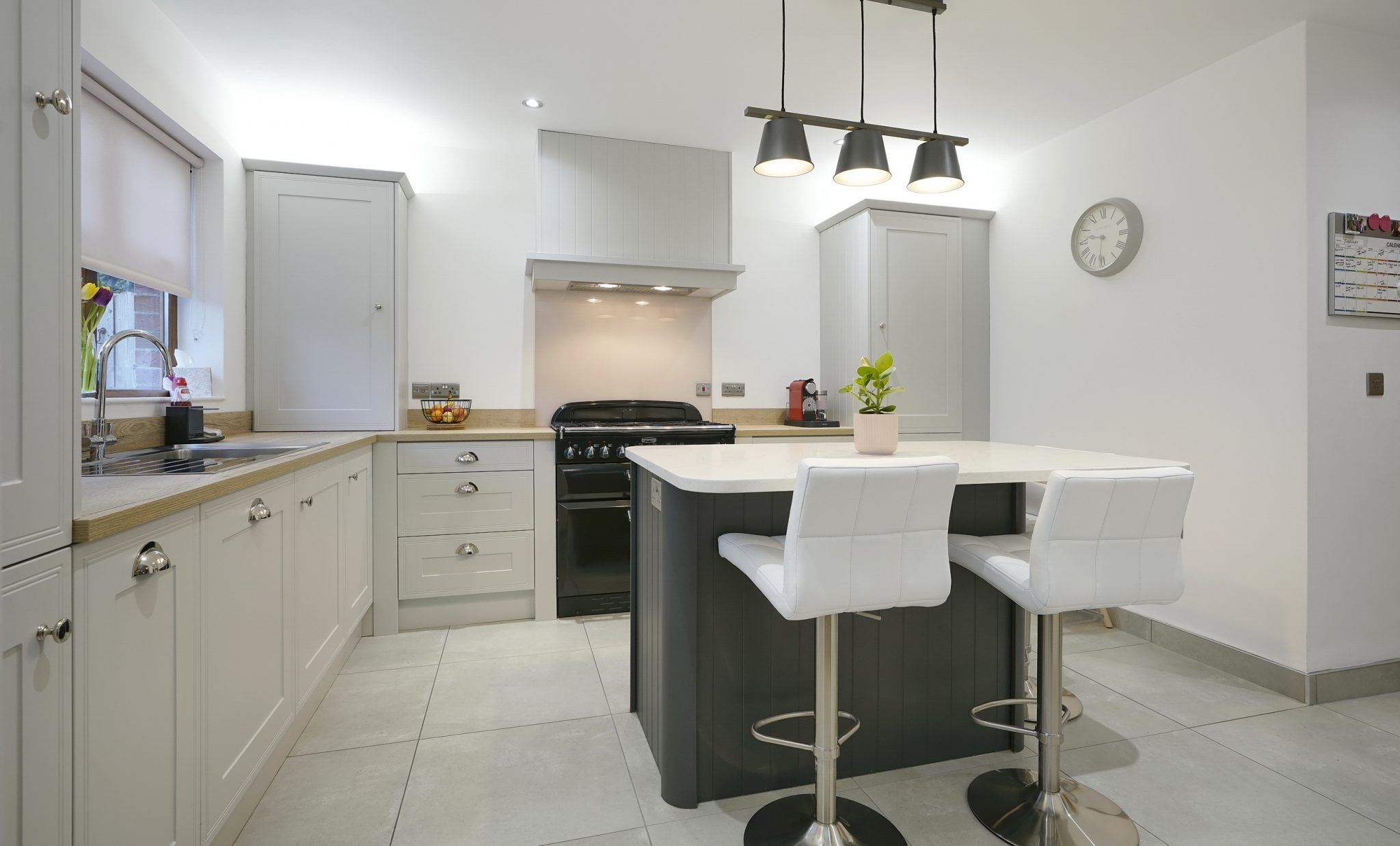 Grey Compact kitchen