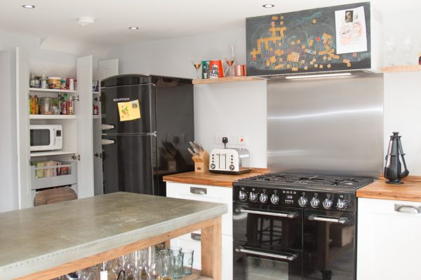 Compact Industrial Kitchen