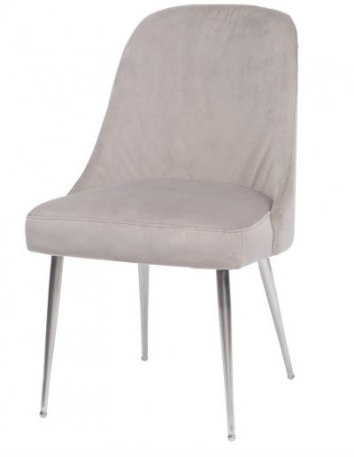 Bardolino Mink Velvet Dining Chair £280 Min Order 2