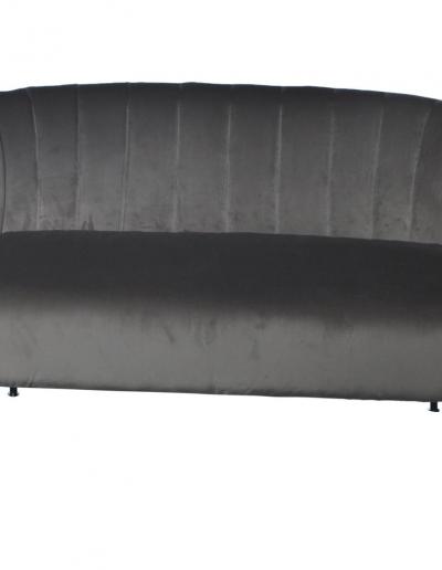 Bardolino Pearl Velvet Pleated Sofa £710