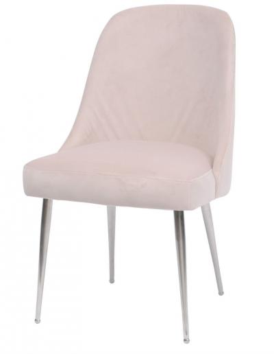 Bardolino Pink Velvet Dining Chair £280 Min Order 2