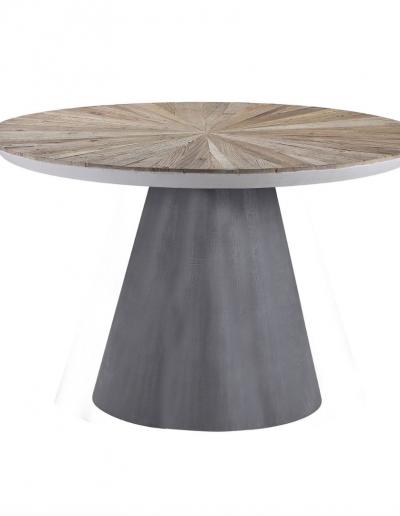 Belmore Elm & Concrete Dining Table £900