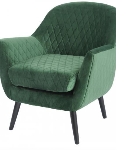 Ellison Green Velvet Occasional Chair £830