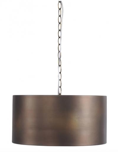 Homestead Bronze Drum Pendant £235