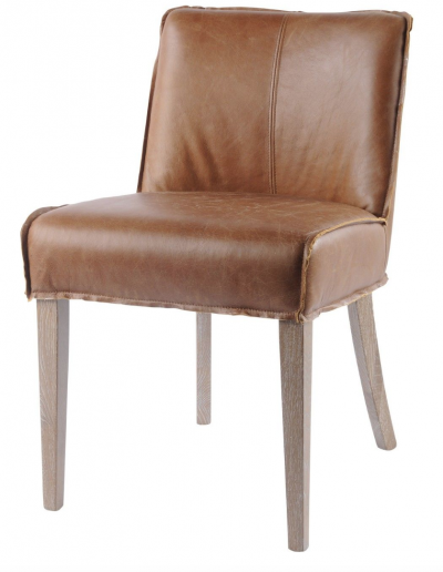 Homestead Tan Leather Chair £370 Min Order 2