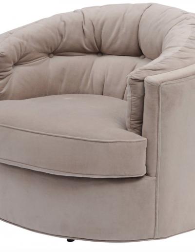 Jeeves Velvet Swivel Chair £830