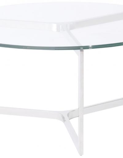 Linton Steel & Glass Coffee Table £330