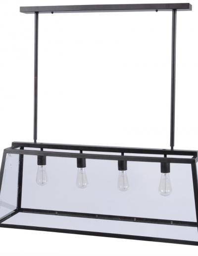Mercer Clear Four Light Pendant £285