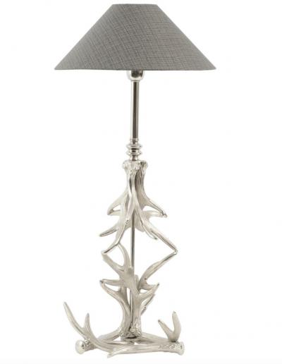 Nickel Antler Complete Lamp £150