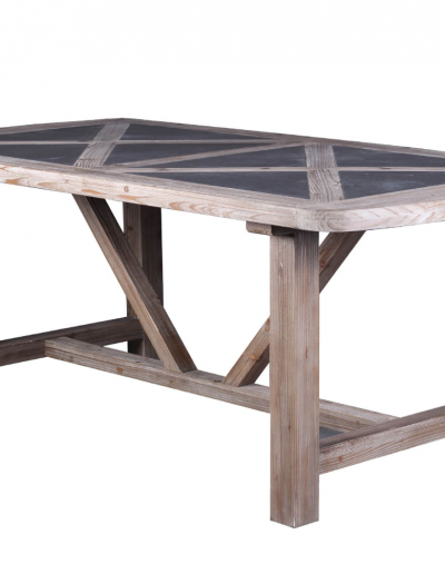 Refinery Concrete & Fir Dining Table £750