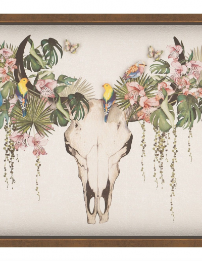 Tropical Skull by Summer Thornton 800x600 £260