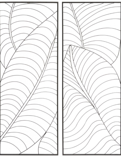 Wire Palm Leaves 510x1310 £118