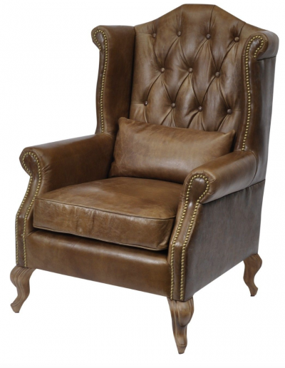 Woodcroft Leather Chair £1190