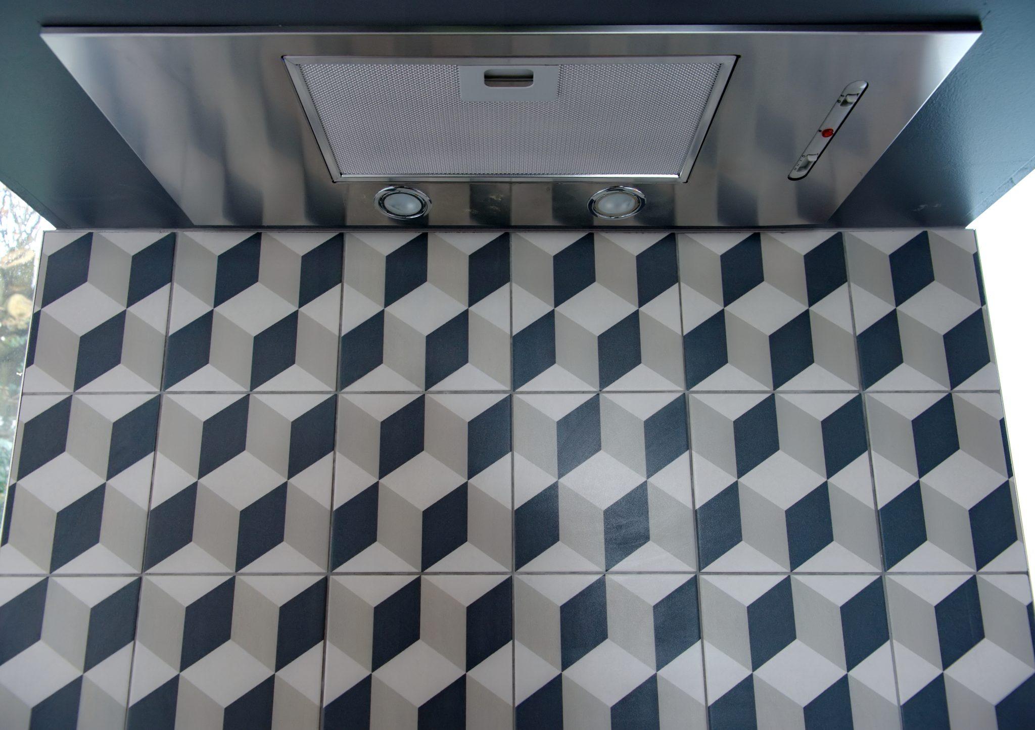 Geometric Tiles-Adornas Kitchens-Kitchens Bangor-Kitchens Belfast-Kitchen showrooms bangor-Modern Kitchens-German Kitchens-©AdornasKitchens2017