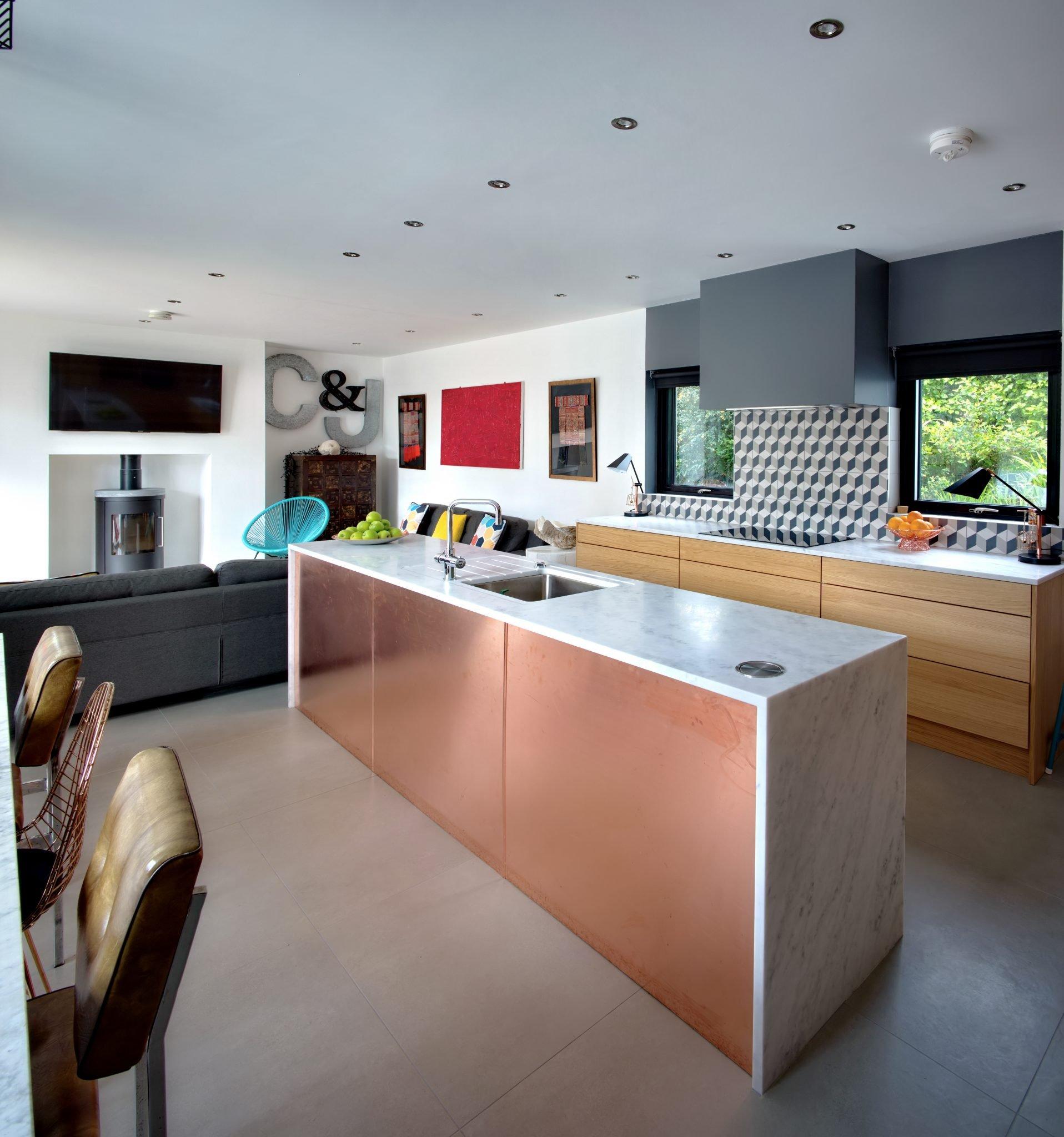 Island-Copper-Adornas Kitchens-Kitchens Bangor-Kitchens Belfast-Kitchen showrooms bangor-Modern Kitchens-German Kitchens-©AdornasKitchens2017