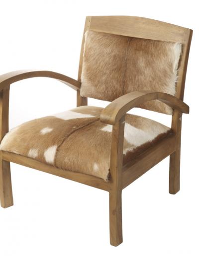 Goat Hide Chair 720x600x670 £400