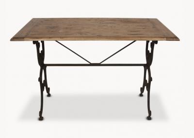 Oak & Iron Table