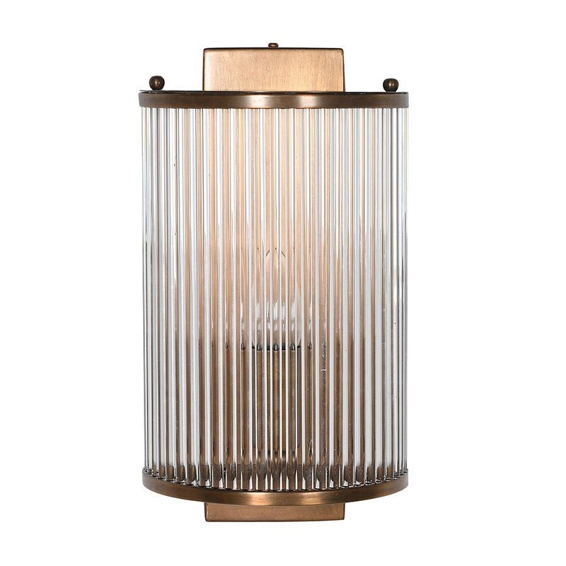 huge discount c416f a5098 Ribbed Glass Wall Light