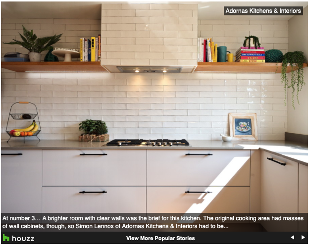 We're in the Houzz Top 10